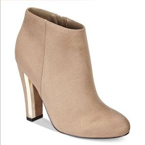 New Call It Spring Lovelarwen Ankle Bootie Tan Size 7